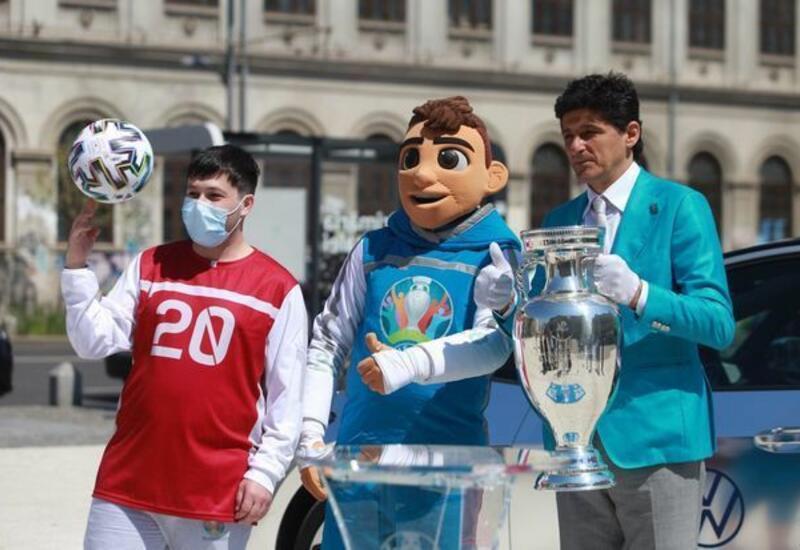 Стал известен сегодняшний маршрут кубка Евро-2020 по Баку