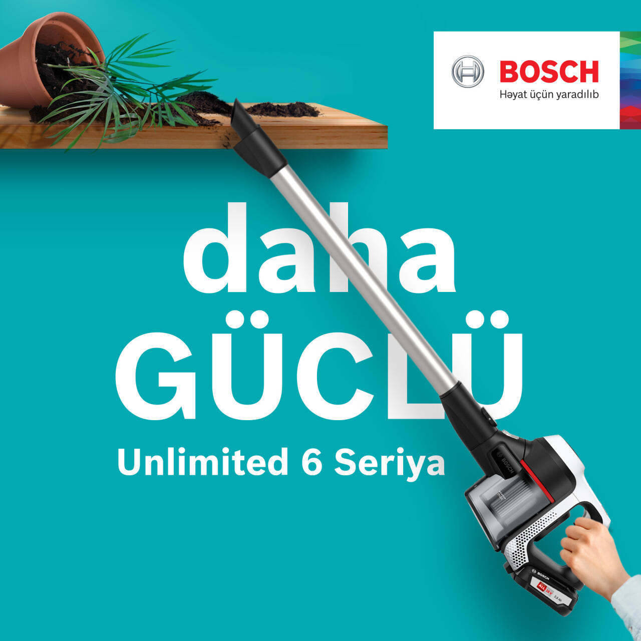 Bosch bütün zamanların ən çevik tozsoranını təqdim edir