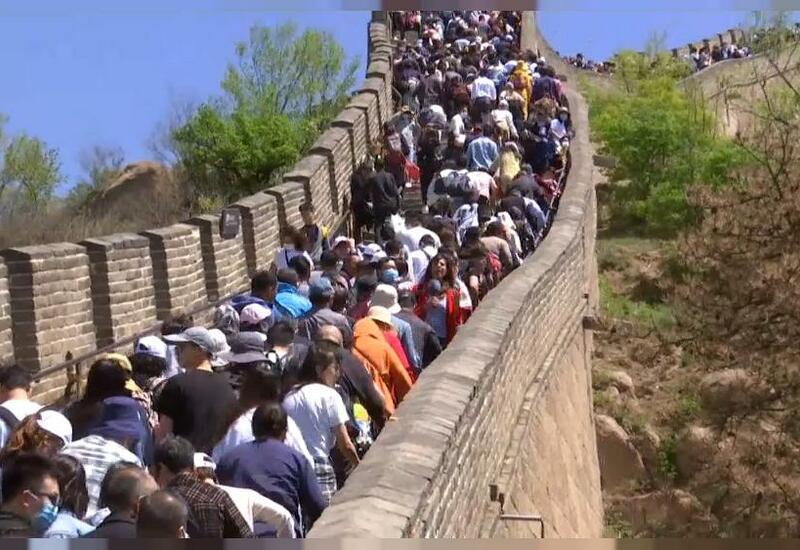 Майский бум внутреннего туризма в Китае