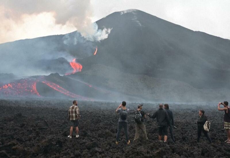 В Гватемале пытаются остановить извержение вулкана молитвой
