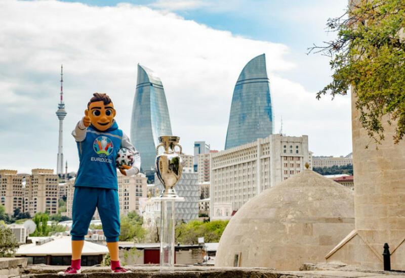 Кубок Евро-2020 будет представлен жителям Баку на центральных улицах