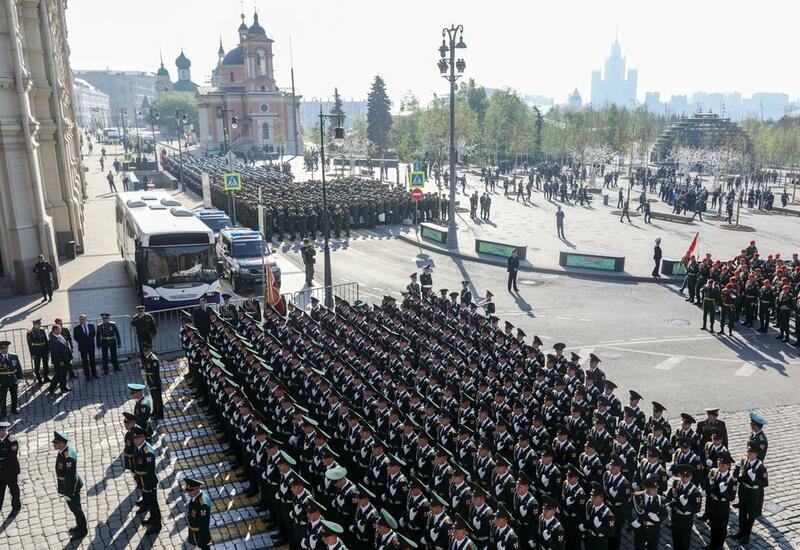 Москва готовится к генеральной репетиции Парада Победы