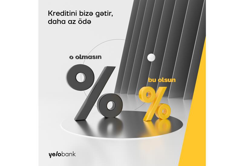 Перенеси свои кредиты в Yelo Bank и уменьши месячные выплаты (R)
