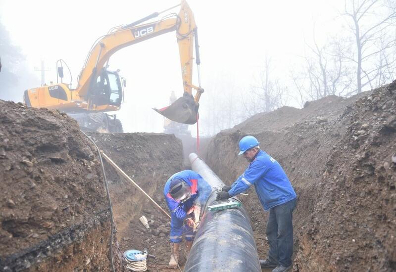 Началось строительство нового магистрального водопровода в Шушу