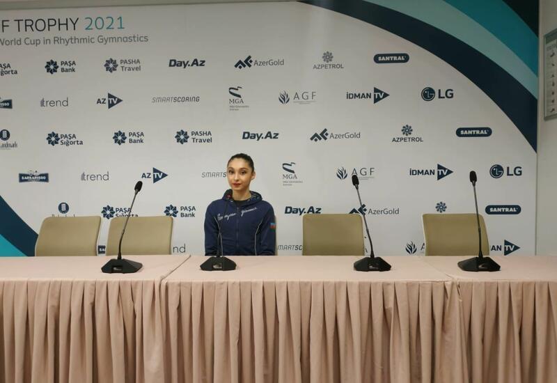 На Кубке мира в Баку сложность моих упражнений выше, чем в двух предыдущих соревнованиях