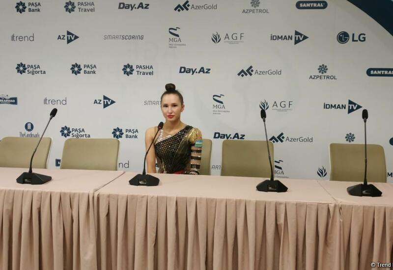 В Национальной арене гимнастики в Баку самые лучшие условия