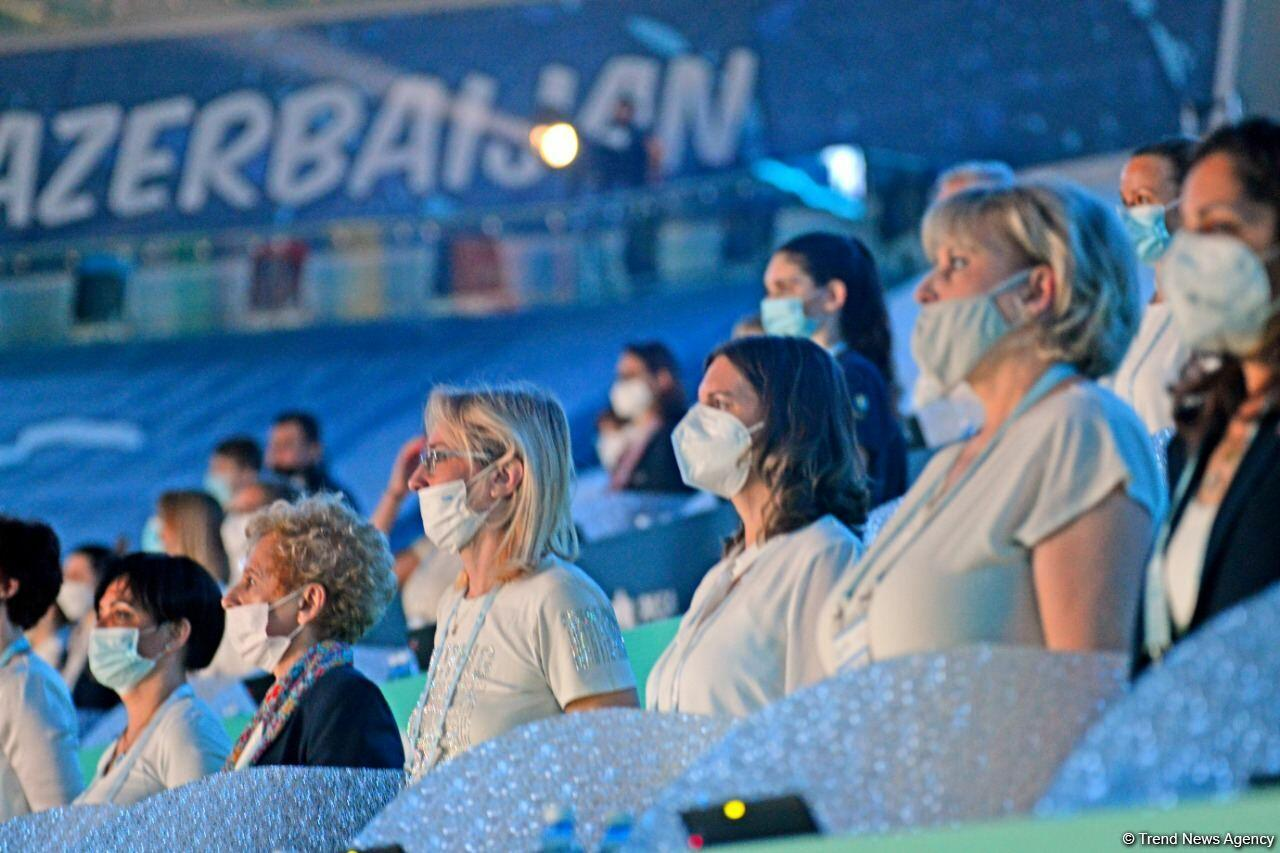 В Баку состоялась церемония открытия Кубка мира по художественной гимнастике