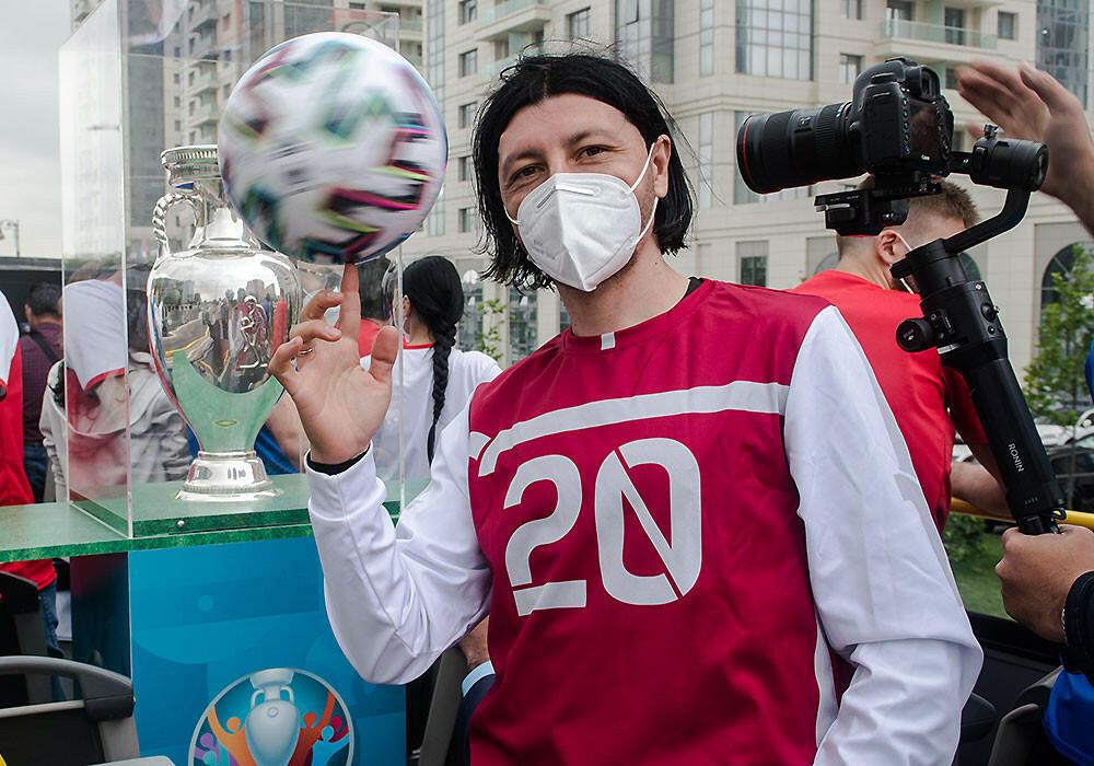 Кубок Евро-2020 продолжает «путешествие» по Баку