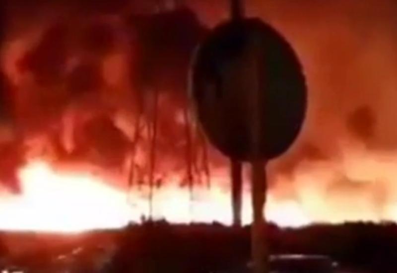Взрыв прогремел на иранском химзаводе