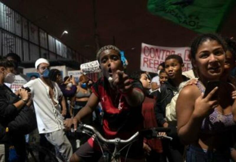 Рио-де-Жанейро: протесты против полицейского произвола