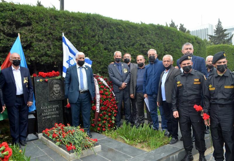 В Баку почтили память Национального героя Альберта Агарунова