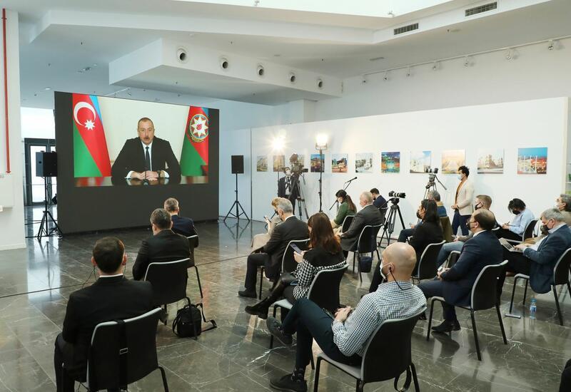 Интервью Президента Ильхама Алиева находятся в центре внимания мировой общественности
