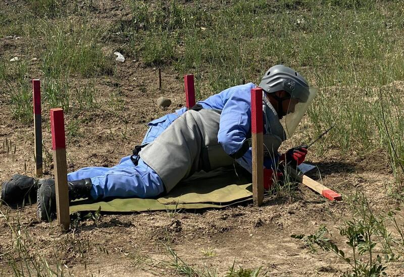 8-километровый участок автодороги Физули-Ахмедбейли очищен от мин