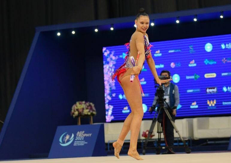 Красота и филигранность движений – Лучшие моменты финального дня Кубка мира по художественной гимнастике в Баку