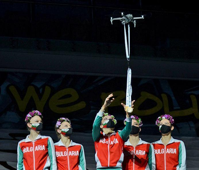 В Национальной арене гимнастики состоялась церемония награждения победителей и призеров Кубка мира в Баку