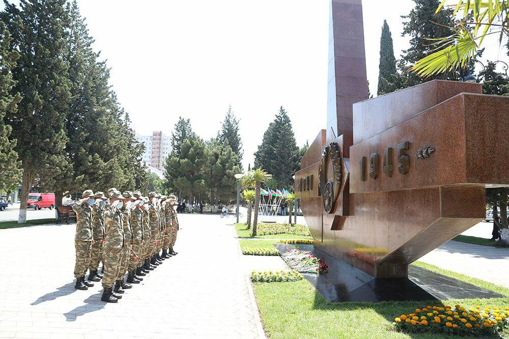 В Азербайджанской Армии проведены мероприятия по случаю 76-й годовщины Победы