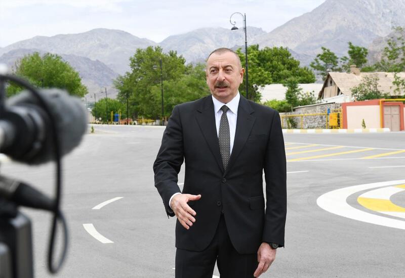 Президент Ильхам Алиев: Зангерзурский коридор должен быть и будет открыт