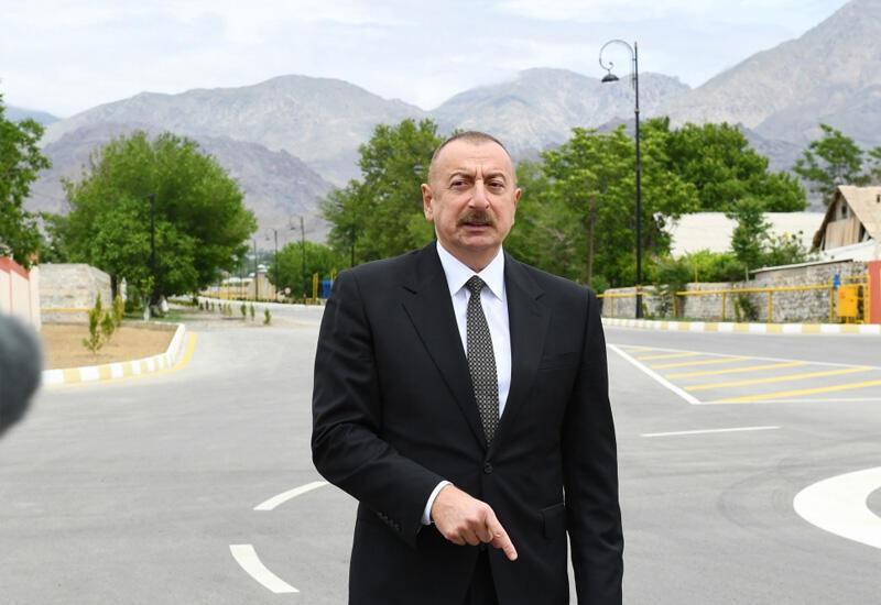Президент Ильхам Алиев предупредил реваншистов в Армении: Пусть не играют с огнем