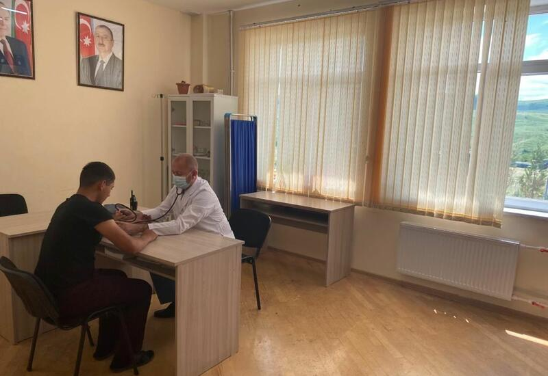Журналисты ознакомились с военным госпиталем ГПС Азербайджана в Губадлы