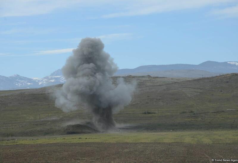 В Ходжалы два человека подорвались на мине