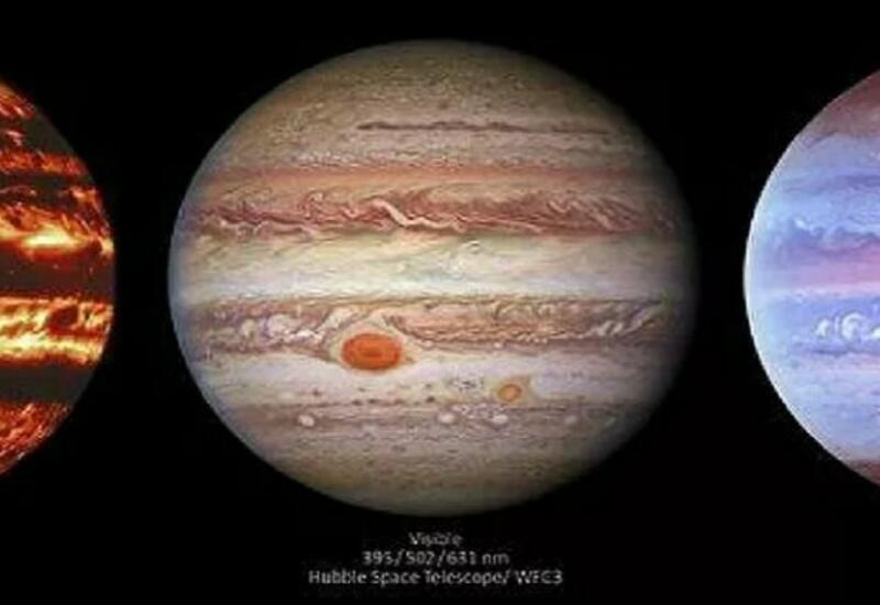 Астрономы получили необычные изображения Юпитера
