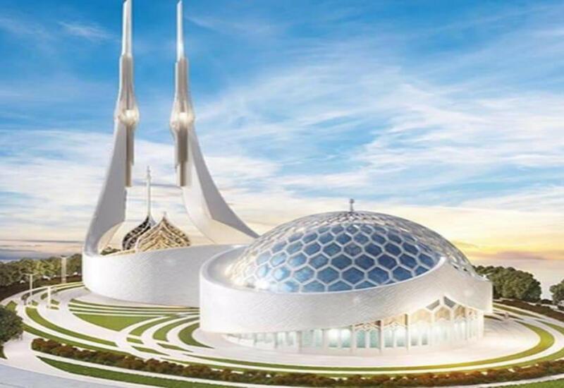 Появились фото проекта нового комплекса мечети в Шуше