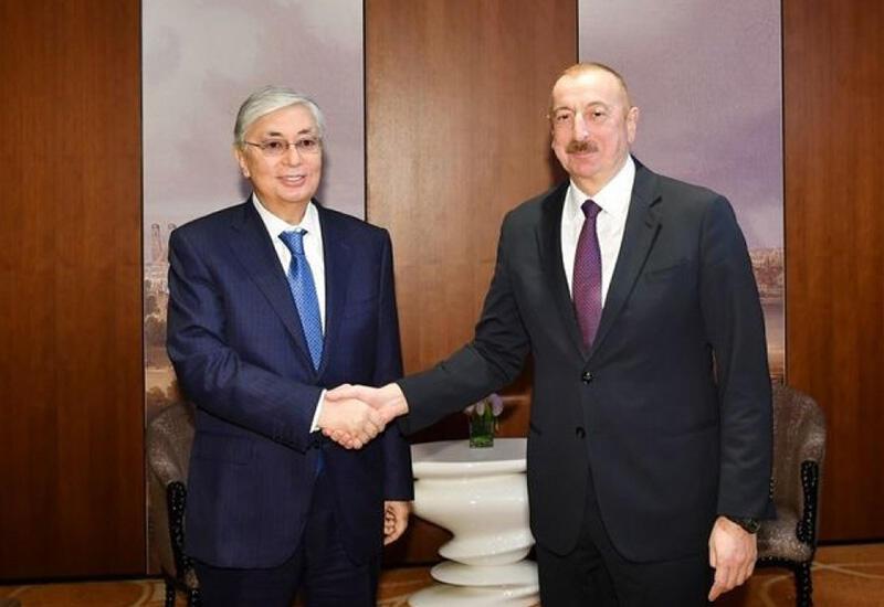 Состоялся телефонный разговор между Президентом Ильхамом Алиевым и Президентом Казахстана