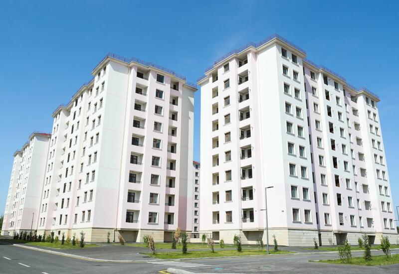 Cемьям шехидов и инвалидам войны предоставлены квартиры