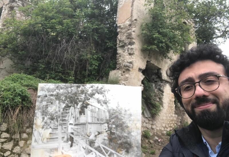 Фуад Ибрагимов нашел родной дом в Шуше и показал