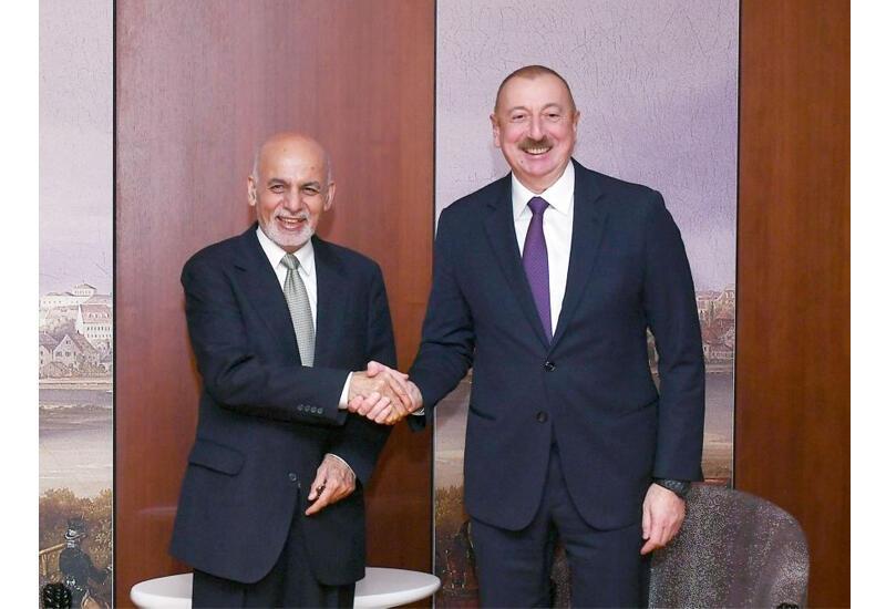 Состоялся телефонный разговор между Президентом Ильхамом Алиевым и Президентом Афганистана