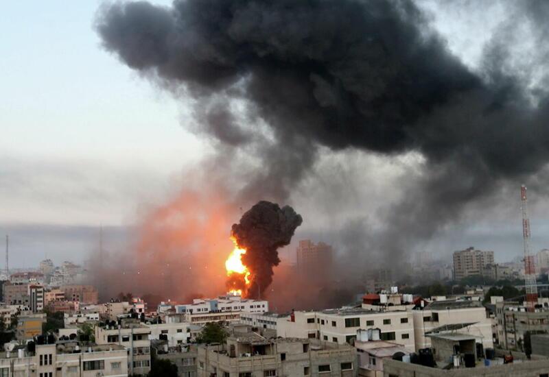 ВВС Израиля атаковали штаб внутренней безопасности ХАМАС