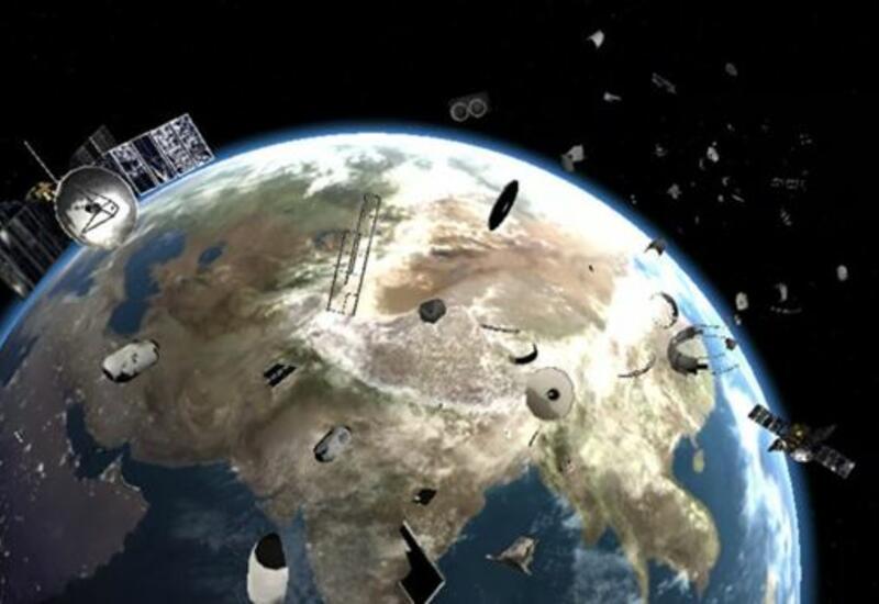 На околоземной орбите обнаружили около семи тыс. тонн космического мусора