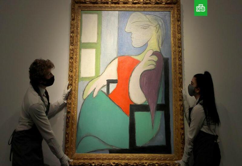 Картину Пабло Пикассо продали на аукционе в Нью-Йорке за $103 млн