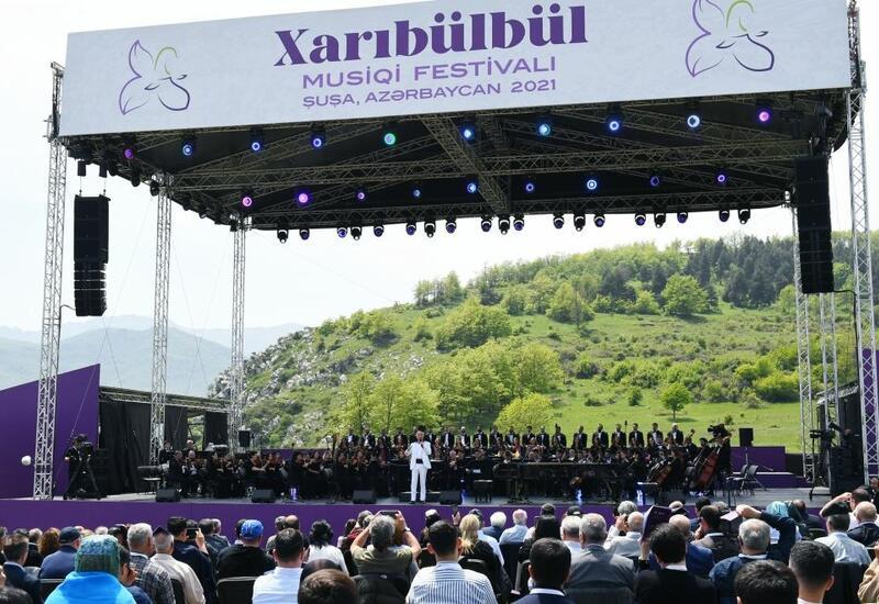 Фестиваль «Харыбюльбюль» в Шуше