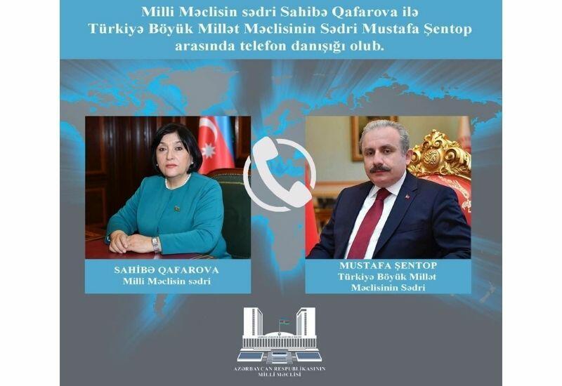 Спикеры парламентов Азербайджана и Турции обсудили вопросы, представляющие взаимный интерес