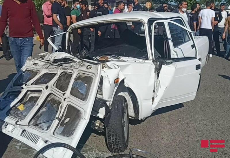 В Лянкяране столкнулись 3 автомобиля, есть пострадавшие