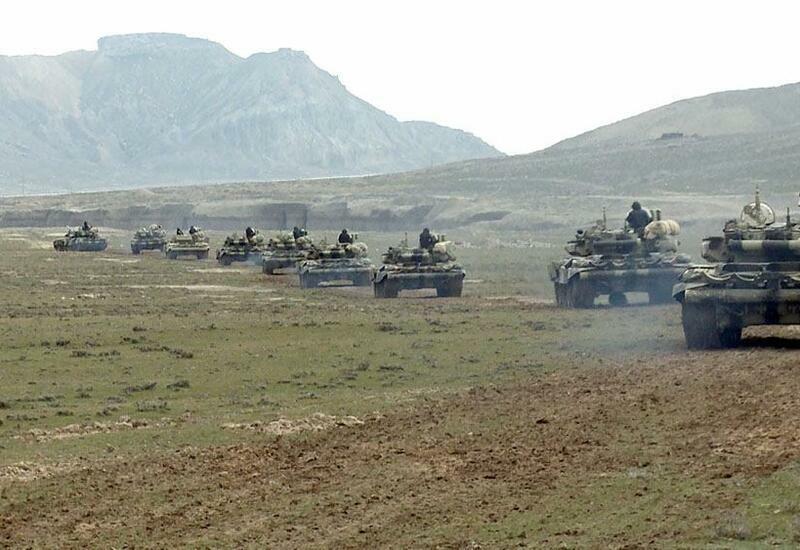 Войска Нахчыванского гарнизона приступают к очередным командно-штабным учениям