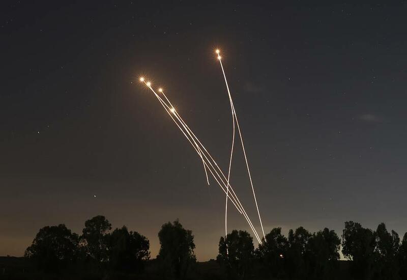 Армия Израиля сообщила о 3 350 ракетах, выпущенных из сектора Газа