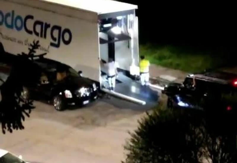Криштиану Роналду тайно вывез свои машины из Турина