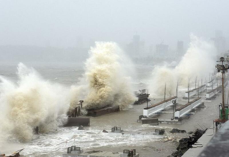 Индия в ожидании удара стихии