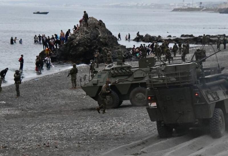 6 тыс нелегальных мигрантов пересекли границу Испании