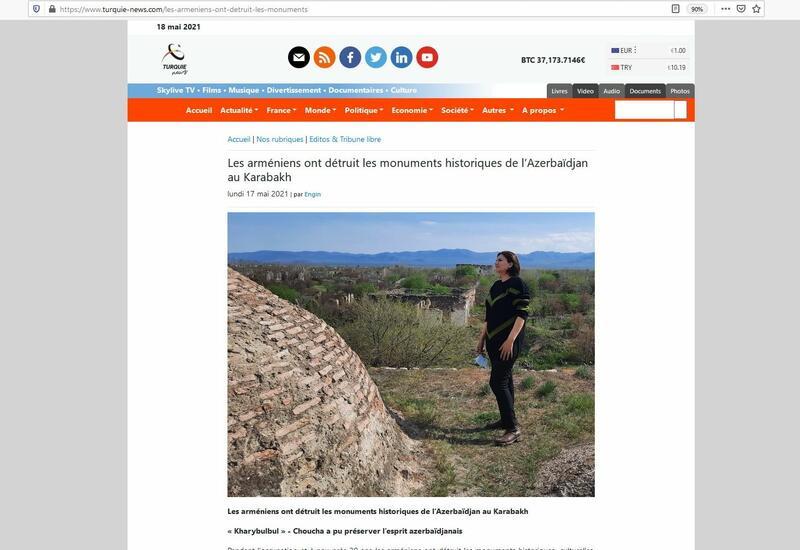 """Azərbaycanlı jurnalist Fransa portalında """"Xarıbülbül"""" festivalından yazıb - FOTO"""