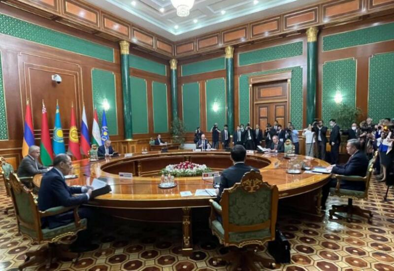 Проходит заседание министров иностранных дел стран-членов ОДКБ