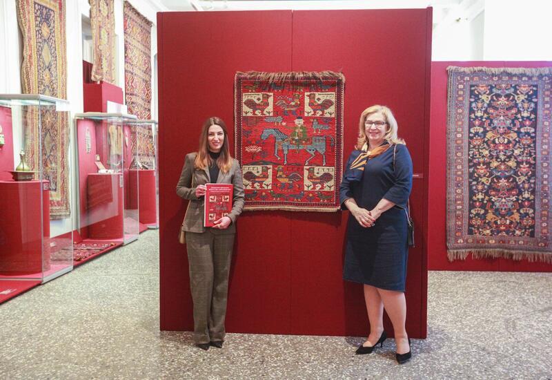 Азербайджанские ковры очаровывают Россию