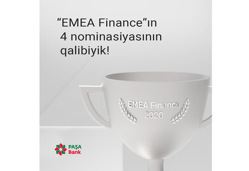 PASHA Bank удостоен 4 международных премий Europe Banking Awards