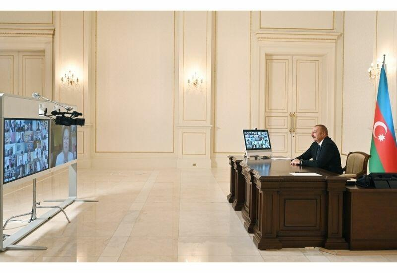 С участием Президента Ильхама Алиева состоялись обсуждения Международного центра Низами Гянджеви в видеоформате на тему «Южный Кавказ: региональное развитие и перспективы сотрудничества»