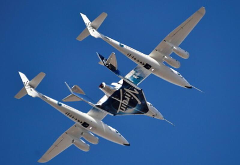 Компания Virgin Galactic испытала корабль для космических туристов