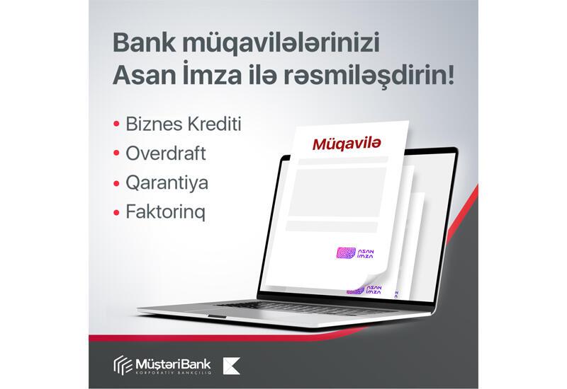 Предприниматели могут подписывать договоры с Kapital Bank с помощью «ASAN İmza»