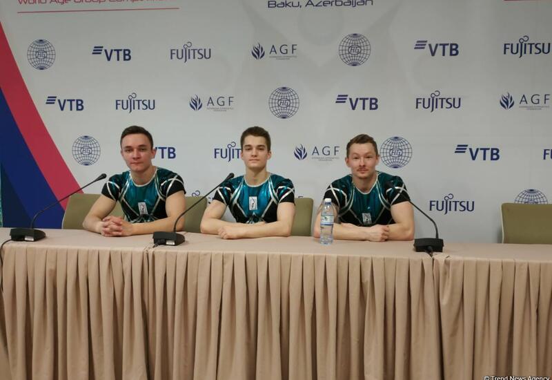 ЧМ по аэробной гимнастике в Баку проходит на высочайшем уровне