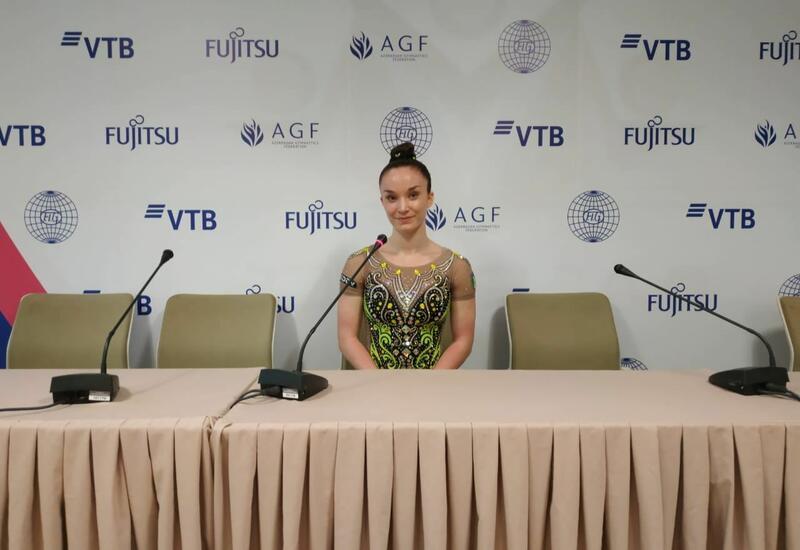 В Национальной арене гимнастики в Баку царит прекрасная атмосфера